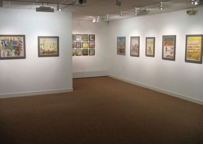 Exhibition of Cyprus work at Otter Gallery Chichester 2008