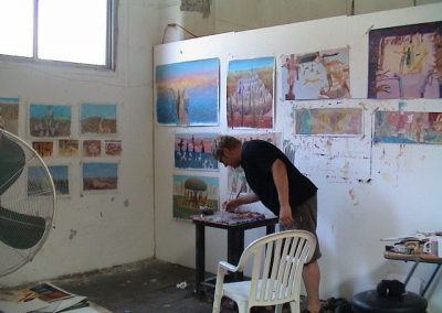 Robbie in Limassol Studio 2004