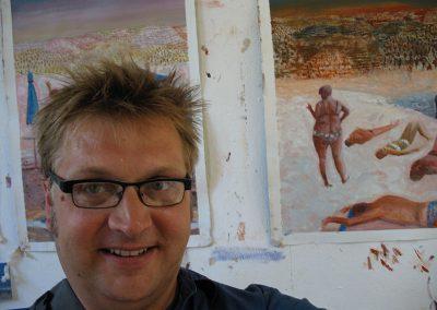 Robbie in Limassol Studio 2005