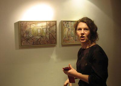 Catharine Davison, 'Fred' exhibition at Foyer Gallery Aberdeen 2011