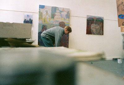 Robbie Bushe, Grays School of Art