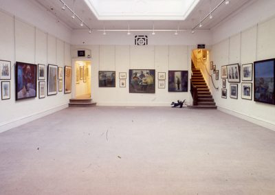 Solo Show 1992, Scottish Gallery, George Street