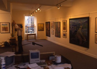 Robbie Bushe, Scottish Gallery