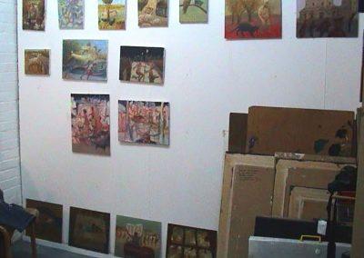 Robbie Bushe, Studio Wall