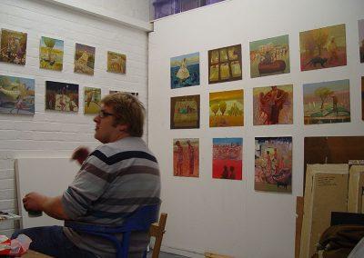 Robbie Bushe, Studio
