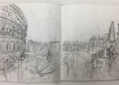 Colleseum Rome Study