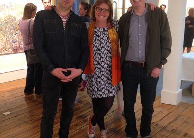 Robbie Bushe, Kate Downie, Ronald Plowman, 'Ghostlands' at Tatha Gallery, Newport on Tay, Sept 2016.