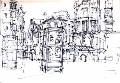 A day drawing around Hastings