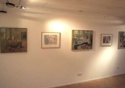 'Fred' exhibition at Foyer Gallery Aberdeen 2011