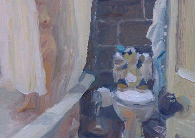 Catie in Shower