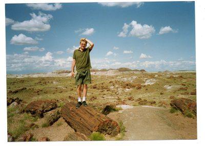 Robbie Bushe, USA, Petrified Forest