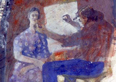 Robbie Bushe, Artist at Ponte Veccio