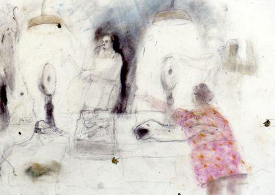 Robbie Bushe, Fish Market Drawing