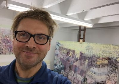 Robbie Bushe, Oxgangs Studio