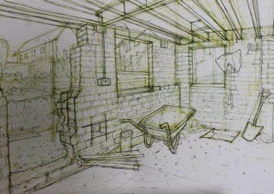 Garage to Studio Conversion