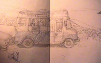 Some sketches around Hastings