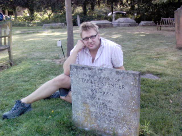 Stanley Spencer's Grave, Cookham