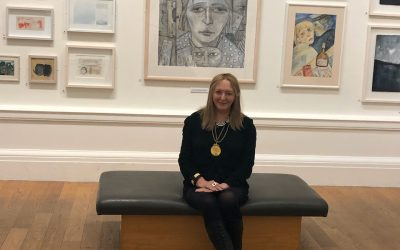Joyce Cairns become first woman president of Royal Scottish Academy