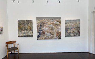 Dwell at Open Eye Gallery: Press Coverage